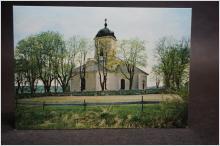 Fasterna kyrka - Uppsala Stift //  1 äldre vykort
