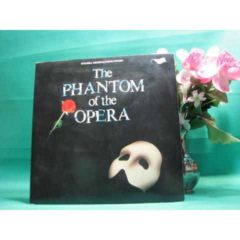 2 LP - The Phantom of the Opera - svenska originalinspelningen