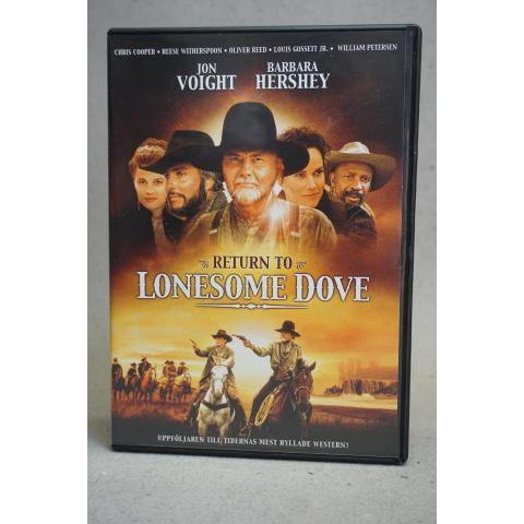 DVD Film 2 Disc - Return to Lonesome Dove - Western - Jon Voight, Barbara Hershey