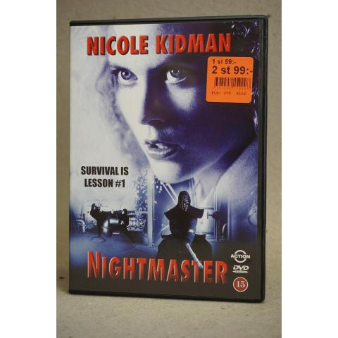 DVD Film - Nightmaster - Action - Nicole Kidman