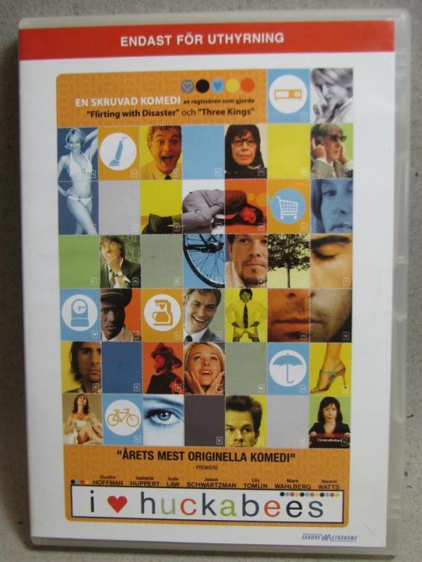 DVD Film - I love Huckabees - Komedi