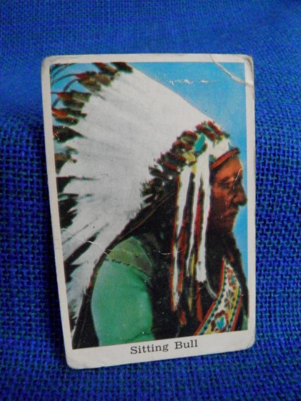 Filmstjärna - Sitting Bull - Indian