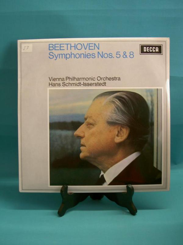 Beethoven - Symfoni nr 5 & 8 - Vienna Philharmonic Orchestra