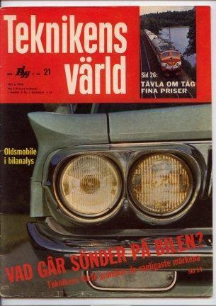 Teknikens värld 1961 3 nr