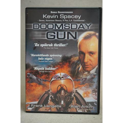 DVD Film - Doomsday Gun - Action/Thriller - Frank Langella, Alan Arkin
